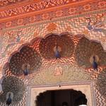 India (Jaipur-City Palace) Beauty of Peacock Gate1 thumbnail
