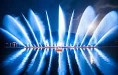 Zeller Seezauber (Sporthotel Alpenblick) Tags: alpen alps austria dasistösterreich europe kaprun lake thatsaustria water zell zellamseekaprun zellerseezauber laser show österreich