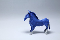 Fumiaki Kawahata. Pony (kastudio) Tags: origami art paper fumiaki kawahata pony
