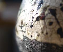 Glaze~ Macro Monday Raku (Karen McQuilkin) Tags: macro monday glaze raku pottery ceramic