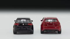 Majorette Volkswagen Golf GTI and Mercedes Benz A - Class (nirmala_l91) Tags: majorette volkswagen volkswagengolf golfgti mercedesbenz mercedesaclass diecast