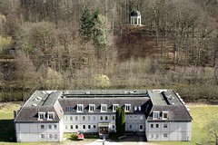 Boitzenburger Land IMG_2551 (nb-hjwmpa) Tags: boitzenburg plattenbau schlosspark apollotempel uckermark markbrandenburg