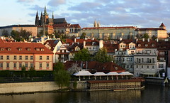 Morning Prague Castle (Mayer Martin) Tags: czech czechflickr prague castlelofprague praha vltava river sunrise colorroof rightplace