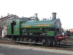 IMG_4819 - GWR Hudswell Clarke Saddle Tank 813 (SVREnthusiast) Tags: didcotrailwaycentre didcot railway centre gwrhudswellclarkesaddletank813 gwr hudswellclarke saddletank 813