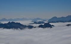 C'est la ouate (Mystycat =^..^=) Tags: pyrénées picdumididebigorre france hautespyrénées midipyrénées montagne nuages ciel 65 bagnèresdebigorre