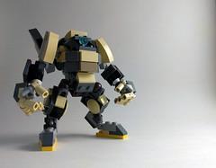 VLS C403o War Frame (Jay Biquadrate) Tags: moc microscale mf0 mfz mobileframezero mech mecha lego