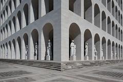 Esercito (Roberto -) Tags: architecture palazzo civilta romana rome eur architettura nikon d3200 tokina 1120