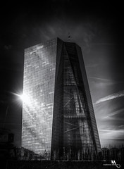 European Central Bank, Frankfurt (creati.vince) Tags: architecture cityscape creativince frankfurt germany mainhattan skyscraper