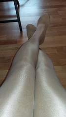 Love these tights.. (Sissy kaylah) Tags: shiny nudetights tights pantyhose tgirl transvestite tranny crossdresser shinylegs