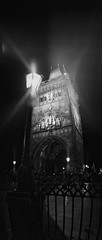 (BuyFilmNotMegapixels) Tags: charlesbridge longexposure night panorama ilfordpan100 wideluxf7