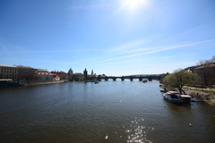 River Vltava in Prague (kalakeli) Tags: river fluss flüsse rivers vltava moldau wasser reflexionen reflections prag prague praha march märz 2017