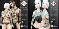 Tattoo For Thrift Shop (SouRiNy DeZnO) Tags: tattoo redfish event thriftshop souriny