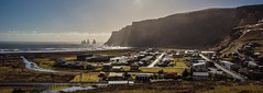 """""""A View to a Kill, Vík, Iceland."""" (mindtraveler26) Tags: cliffs europe travel travelphotography flickrbest ocean smalltown beach panorama canon vík iceland"""