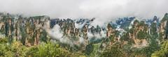 Zhangjiajie (merbert2012) Tags: zhangjiajie china nature naturalwonder mountains avatar movies landscape panorama planetearth nikon nikond800 fog forest travel holiday rocks