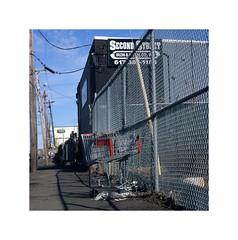 (STREETIZM) Tags: fuji provia 100f e6 film 150mm sonar t epson v800 everett massachusetts scrap yard industrial crt urban