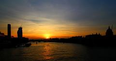 Sunset on the Thames from Southwark Bridge (m5cjk) Tags: m5cjk visitlondon londonbynight londoncity