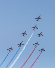 Patrouille de France-4 (4myrrh1) Tags: patrouilledefrance french military flying flight flightdemonstrationsquadron flightdemonstrationteam 2017 al alabama maxwell afb aircraft airplane aviation airshow airplanes airport airforce canon 6d ef70300l