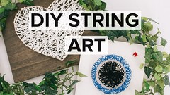 DIY - Easy String Art (instasize) Tags: diy easy string art how photography photos food make makeup beauty hair face filters effects pictures editing edit photoshop do it yourself best top iphone app android photo editor picture adjustments contrast exposure clarity skin acne remover teeth whitener watch video youtube