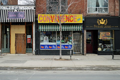 DSC_0355 v2 (collations) Tags: toronto ontario architecture documentary vernacular streetscapes builtenvironment cornerstores conveniencestores urbanfabric varietystores