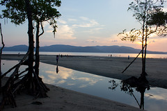 Shadow and Colors (Arpa Ghosh) Tags: sunset sea india colors shadows andamans