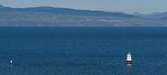 Lighthouse blues (LEXPIX_) Tags: morning lighthouse lake canon spring high flood tide adirondacks ii champlain mk g1x