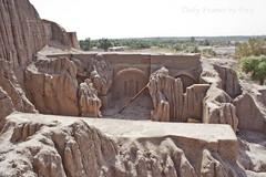 قلعه دختر بم (Daily Frames by Fera-) Tags: bam مسجد بم ارگ شهر حنا bamcitadel خشت
