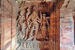 India - Karnataka - Badami Caves - 038 (asienman) Tags: india architecture caves karnataka badami chalukyas vatapi asienmanphotography