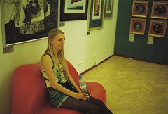 get off the art rachel (whistle.and.run) Tags: blue red white color colour art film girl yellow museum analog 35mm painting nikon colorful gallery sitting czech prague artgallery candid seat paintings grain praha exhibition lips 35mmfilm blonde teenager czechrepublic analogue filmcamera grainy dali artmuseum salvadordali blondehair nikonfm2 35mmphotography filmgrain biglips filmphotography teenagegirl nikonfm colorfilm blondegirl 35mmcamera 6x4 35mmcolourfilm colourfilm giantlips 35mmcolorfilm