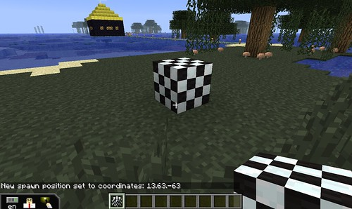 Building the Minecraft Orienteering Chal by Wesley Fryer, on Flickr