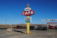 Roadrunner Cafe (Cragin Spring) Tags: old newmexico sign restaurant route66 unitedstates gallup vintagesign rt66 roadrunnercafe gallupnm gallupnewmexico