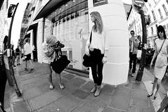 (c'estlavie!) Tags: street city girls light people urban blackandwhite streetart black paris france colors girl fashion female french photo nikon women noiretblanc candid femme leg perspective streetphotography streetlife fisheye explore streetphoto chic rue blanc franais parisienne sainthonor girlsinstreet greatphotographers streetpict nikonstunninggallery blackandwhitenoiretblanc flickraward d300s nikonflickraward flickrunitedaward