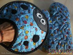 pothoder 'blue ladybug' (Carla Cordeiro) Tags: fuxico patchwork joaninha potholder luvadecozinha pegadordepanela potholderladybug pegadorjoaninha