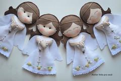Encomenda da mamãe Erica para a 1a. Eucaristia da filha Carol (Ana Ribeiro2010) Tags: batizado felt feltro boneca anjo eucaristia decoraçao anjinha bonecaanjinha coraçãodivinoespíritosanto