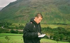 00430016 (Reena Gurung) Tags: park camping lake 35mm mju hiking district olympus national scafell navigation