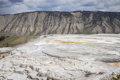 Mammoth view (AmaurieRaz) Tags: trip nature canon landscape soil yellowstone tamron volcanic 2014 2470mm mammothsprings