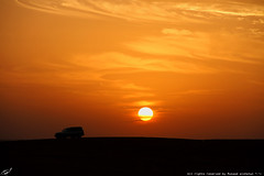 Lovely sunset (mosa3ad alshetwi) Tags: nature desert normal  pres  compatibility