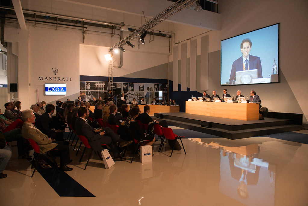 Shareholders' Meeting EXOR at Avv. Giovanni Agnelli Plant