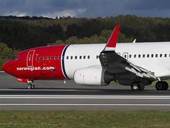 Norwegian 737-800 LN-DYG (Kristoffer K R) Tags: fly boeing 737 flesland 737800 jennylind bgo enbr lndyg enbrfleslandflybgo