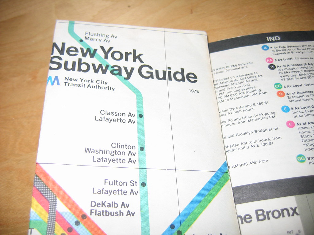 Massimo Vignelli Subway Map 1978.The World S Best Photos Of Subway And Vignelli Flickr Hive Mind
