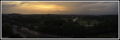 Sunset (Samsul Adam) Tags: sunset film club golf singapore fuji country course handheld fujifilm warren chu choa kang x100