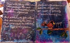 HopeIsTheThingWithFeathers (thewritingreader) Tags: bird night hope poem quote quotation dickinson