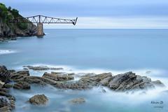 Cargadero Mineral de Mioo (Alberto Garcia Benito) Tags: landscape mar agua nikon paisaje castro roca cantabria garci urdiales atradecer mioo