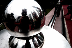 reflection in a ball