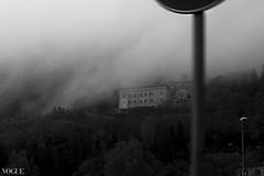 Ghost town (Serena Bigi) Tags: city sky italy photo italia nuvole foto bn cielo fotografia nebbia bianconero citt serenabigi
