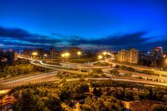 DSC_0750_1_2_tonemapped (龙颜大悦) Tags: china beijing 北京 中国 hdr photomatix nikond90 健翔桥 tokinaaf1228mmf4