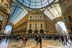 Milan - Galleria Vittorio Emanuele II (Jeff Krause Photography) Tags: city italy milan glass architecture shopping gallery fav50 milano centre central ceiling ii shops scala piazza duomo della hdr galleria emanuele vittorio lombardy fav25 fav100 fav200 fav150