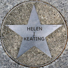 Helen J Keating (chrisinplymouth) Tags: uk england metal circle star pavement plymouth devon round marker squaredcircle squircle royalparade trp pentagonal theatreroyalplymouth cw69x chrisinplymouth