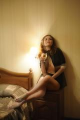 17_05_2014_1 (Artem_Prikhodko) Tags: portrait woman sexy beauty 50mm model nikon availablelight doubleexposure multipleexposure fullframe fx wideopen 50mmf18g d700 beautyshoots f18g