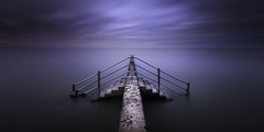 Minnis Bay (richard carter...) Tags: longexposure sunset seascape kent surreal 1635 minnisbay eos5dmk2
