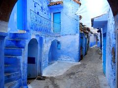 BLUE (edo.co) Tags: blue morocco marocco chefchaouen